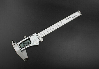 "6"" x.0005""/150mm x.01mm Electronic Digital Metal Large LCD IP54 Stainles Caliper"