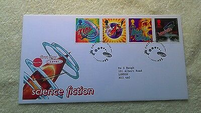 SCIENCE FICTION FIRST DAY COVER 1995 Wells    E5