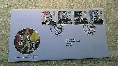COMMUNICATIONS FIRST DAY COVER 1995 London   E6