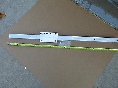 "Linear Roller Bearing Slide Rail 45 1/2""      M53"