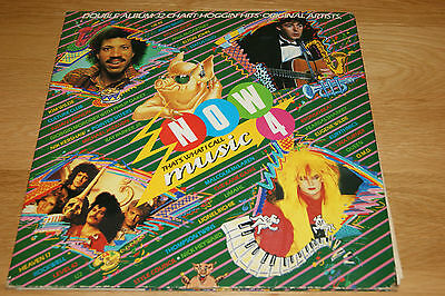 Now That's What I Call Music 4 double LP VG-EX