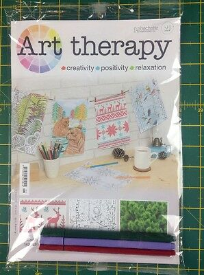 Hachette Art Therapy (Issue 21)