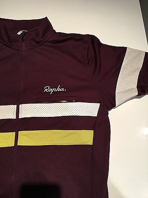Rapha Brevet Jersey Size L With Matching Socks
