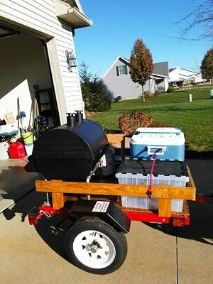 Tailgate party trailer