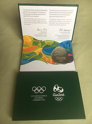 Participation Medal olympic Games rio 2016 Authentic In Original Box