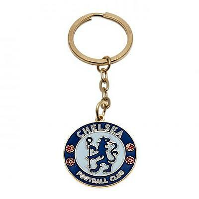 CHELSEA FC CLUB METAL KEYRING KEY RING KEYCHAIN NEW Official Licensed Product