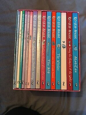 The Roald Dahl Collection 15 Book Set VERY RARE (OLD EDITION)