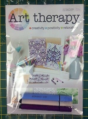 Hachette Art Therapy (Issue 39)