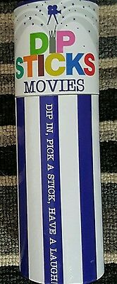 Dip Sticks Movies Party Game Complete By Talking Tables