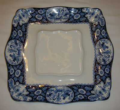 """A Wood & Sons, """"Buddha"""" Pattern, Square Serving Plate."""