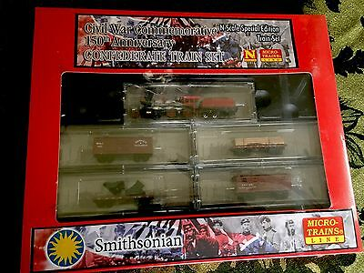 Micro Trains N Scale 993-01-050 Civil War Confederate Train Set  NIP