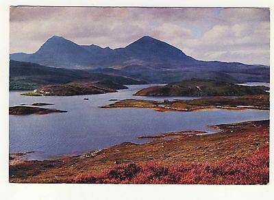 Old Postcard - Quinag from Kyle Sku Ferry, Sutherland - Unposted 0196