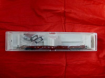 Fleischmann 5270 Ho Gauge Large 8 Axle Low Level Wagon Db 498 3 156-8 - Boxed