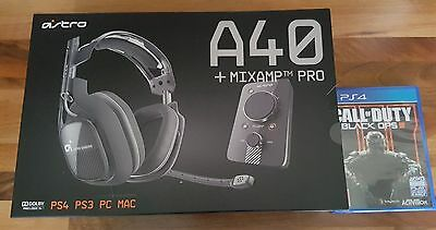 New Astro A40 Headset for sony playstation 4 and Call of Duty Game