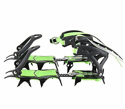 BRS Mountaineering Short teeth Crampons Snowfield Ice Grip Climbing Cleats