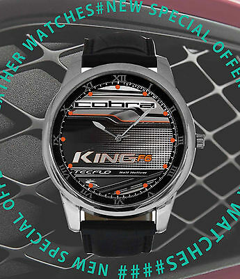 NEW COBTRA KING F6 Iron leather watch