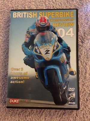 British Superbike Championship  Review 2004 DVD Produced by Duke