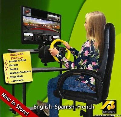 Car Driving Simulator Software for Young Drivers