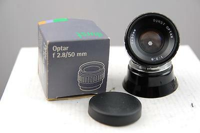 Durst Optar 50mm f2.8 Enlarging lens for 35mm, boxed, mint condition