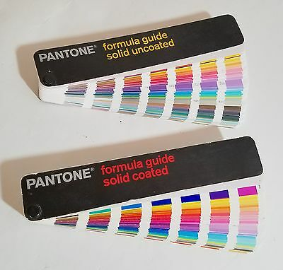 Pantone Formula Guide Solid Coated & Solid Uncoated Third Edition