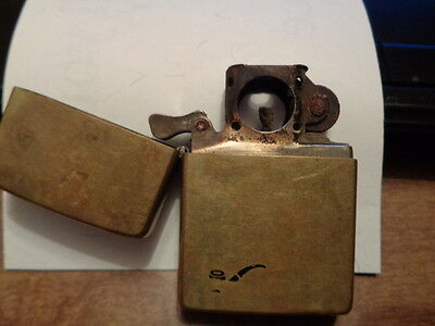Vintage Collectable Brass Zippo Pipe Lighter 1932 -1983 Antique