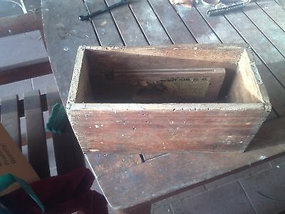 Stanley Plane No 45 Wooden Box Dovetail Type Joint