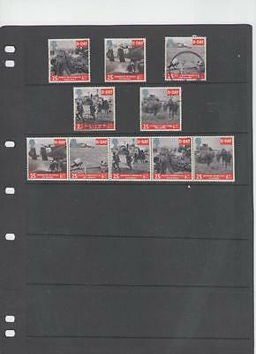 D-Day 50th Anniversary  stamps mint and used sets