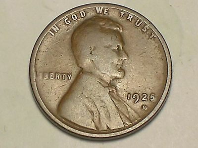 1925-D   Lincoln Wheat Penny Cent, ( Very Nice Coin)
