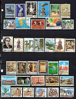 Greece nice used collection from old album,stamps as per scan(2364)