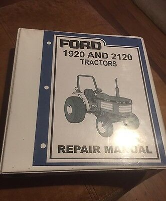 Complete Ford 1920 and 2120 Tractor Repair Manual SE 4603 With Lifetime Warranty