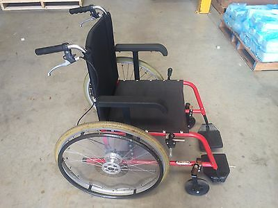 Wheelchair Mobility Plus Manual Wheel Chair. 24inch Wheels with breaks