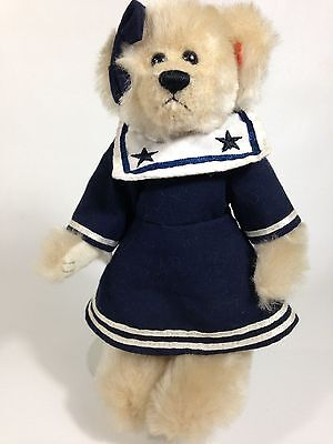 Ty Attic Treasures Collection Breezy the Sailor Girl jointed Teddy Bear 8""