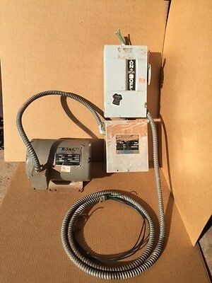 Price Reduced! Power Converter (3-Phase to 220v) - Ronk Roto-Con Mark II