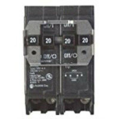 Eaton Corporation Bq220220 Double Pole Circuit Breaker, 120/240V, 2-20-Amp