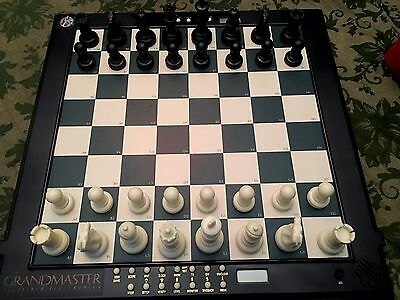 Excalibur Grandmaster 747K Chess Computer Complete Set In Great Condition