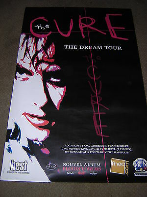 Original Cure Large Promotional Poster - French Dream Tour