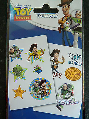 Toy Story Temporary Tattoos (Pack of 12 tattoos).