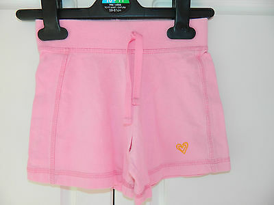 NEXT Pink Cotton Shorts age 3 years