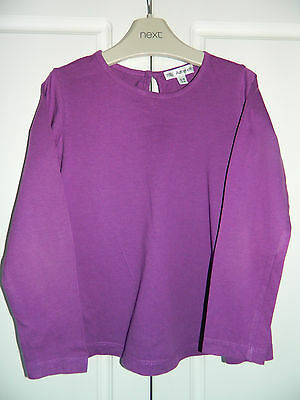 Marks & Spencer Autograph Purple Long Sleeved T-Shirt. Age 5-6 years.