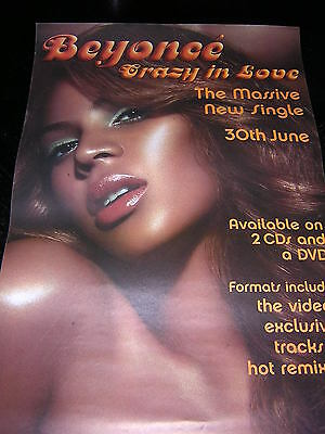 Original Beyonce Promotional Poster - Crazy In Love
