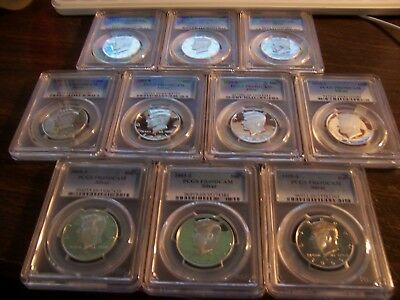 (Lot Of 1 ) Silver 50C Pr 69Dcam Coins Certified By Pcgs Grab Bag Investor Lot#1