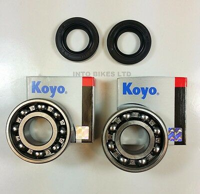 KOYO CRANK BEARING & SEAL KIT FOR  Derbi GPR 50 Racing  2010 - 2012