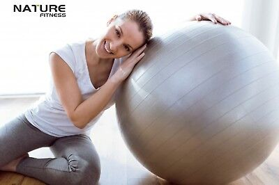 Nature Fitness 75cm Gym Exercise Fitness Gym Swiss Ball + Free Pump