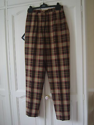 Pringle Golf Trousers Size 12uk Colours Red/Black/Fawn/Camel