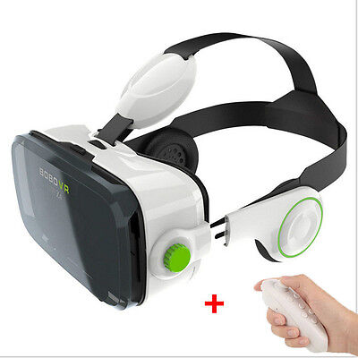 BOBOVR Z4 3D VR Virtual Reality Glasses with with  Bluetooth controller