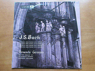 Fernando Germani J.s.bach His Masters Voice 1958 Clp1145