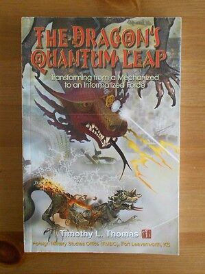 China Infowar Us Army Book Dragon's Quantum Leap Timothy Thomas Chinese Iw