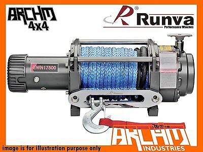 RUNVA EWN17500 7938kg 12V WITH DYNEEMA ROPE ELECTRIC RECOVERY WINCH