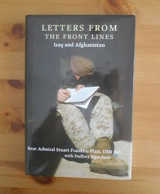 signed IRAQ IRAN LETTERS BOOK USMC US NAVY ARMY