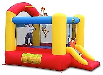 Basketball Bouncer Jumping Castle Hire Only Melbourne Children Party Hire